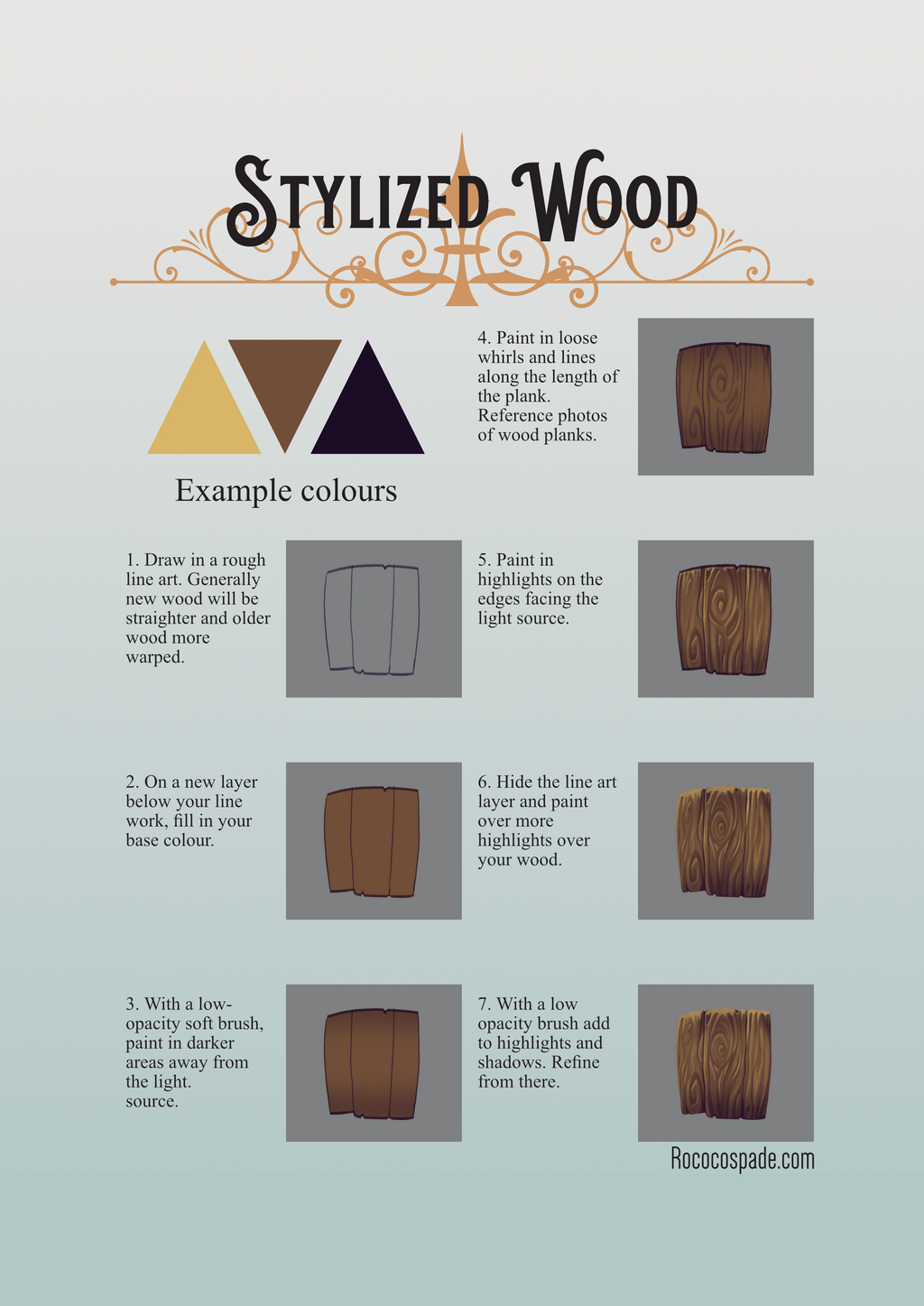 Most recent image: Stylized Wood Tutorial