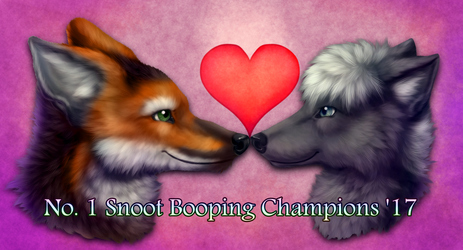 No. 1 Snoot Booping Champs '17