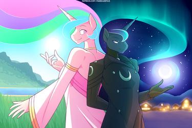 Celestia and Luna - Equinox