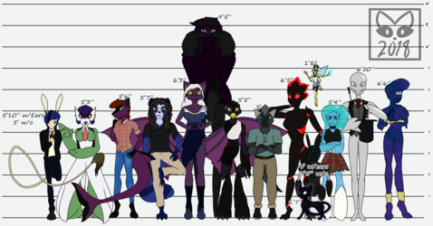 Updated Size Chart