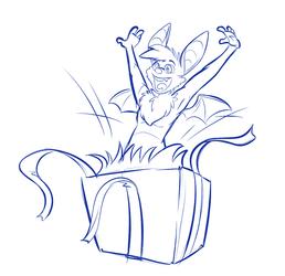 Birthday Bat!