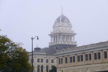 Foggy Courthouse