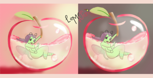 YCH Apple Drink completed