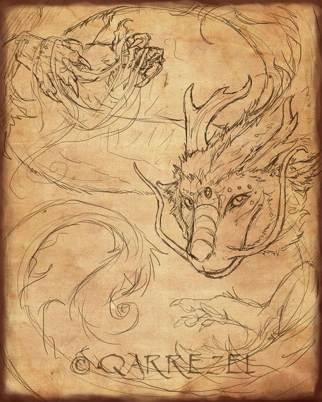 Dreamfinder Sketch by Qarrezel