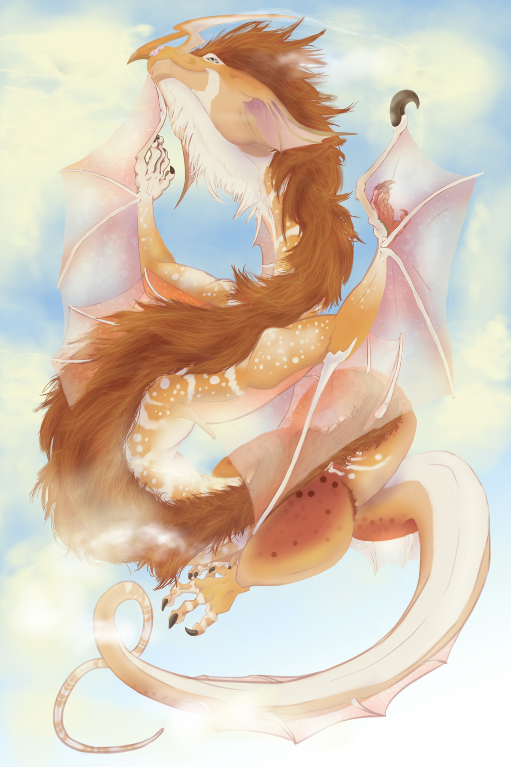 Whimsy Dragon Flight
