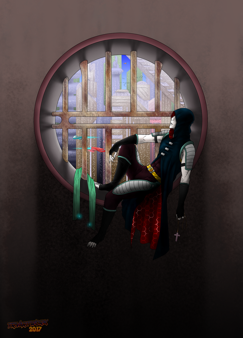 Most recent image: Cilling At The Window
