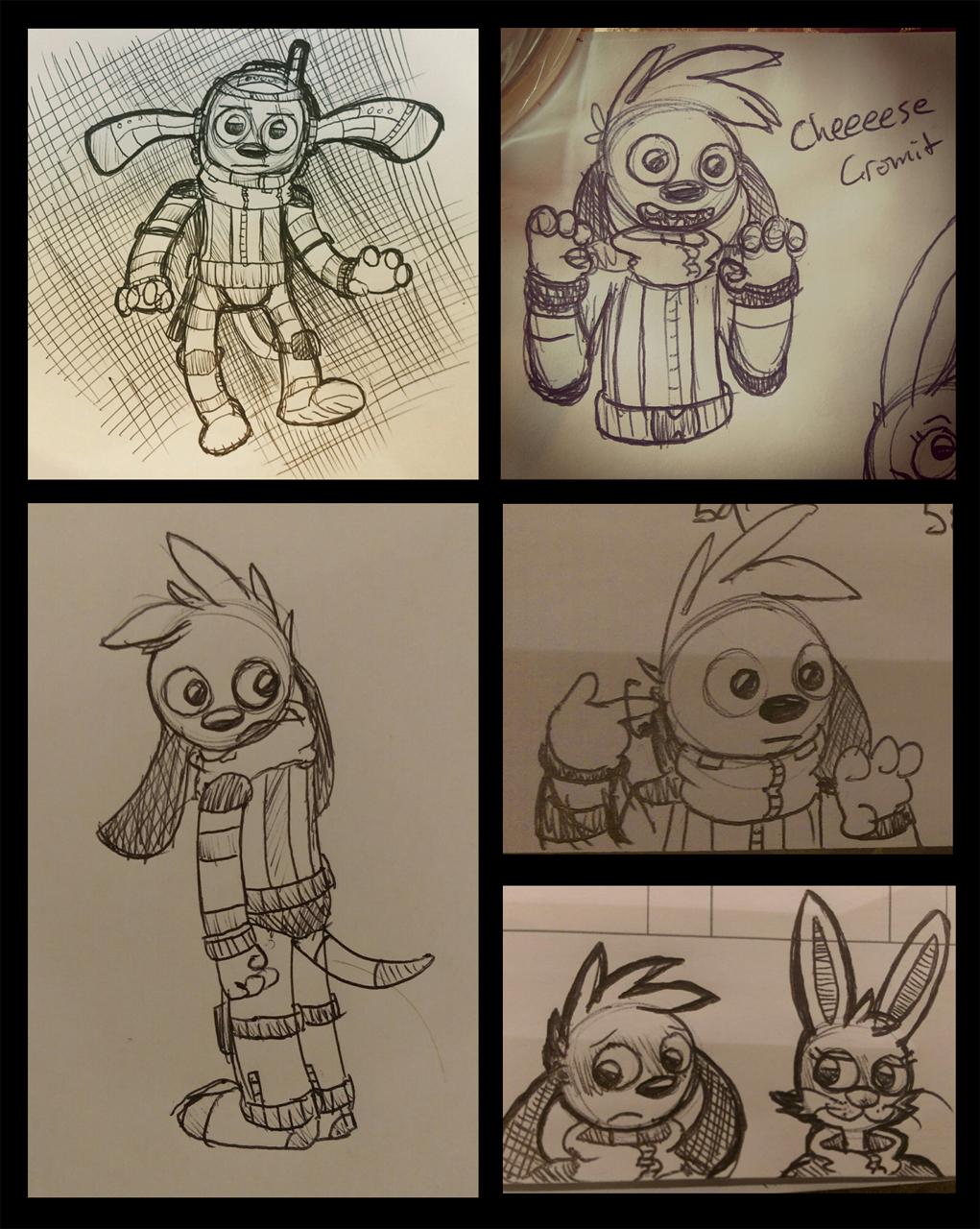 xmas doodles