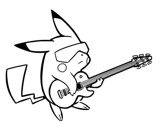 January 31st Pikachu Guitar