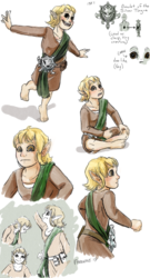 D&D Sketches: Tarika the Brownie