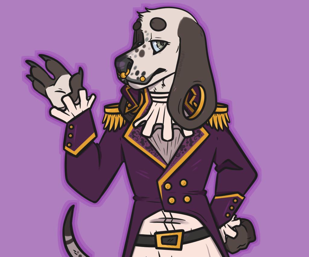 [COMM] Purple 'n Gold