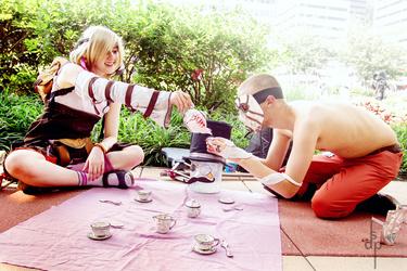 Tea Party w/Flesh Stick's Friend