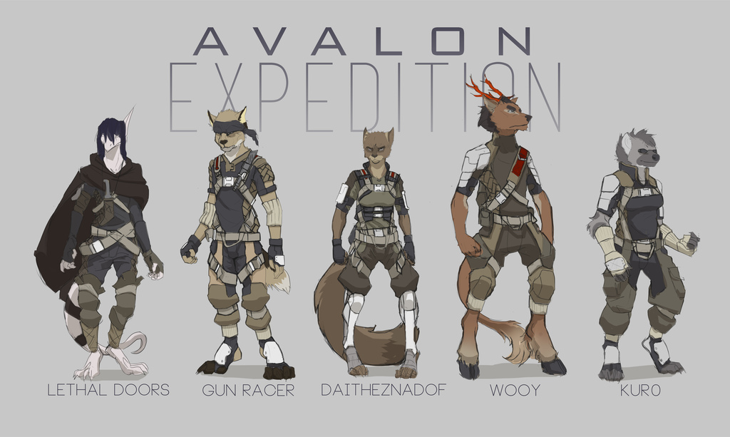 AVALON: Expedition character sheet