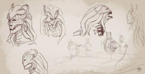 melusine sketches