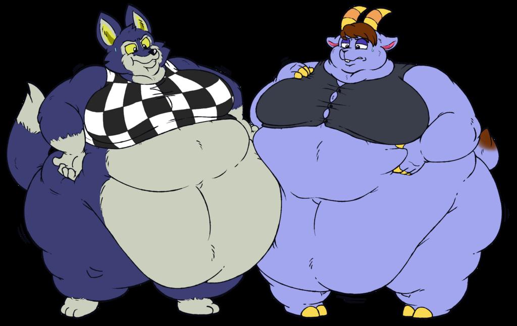 Commission - Big Kidd and Lobo