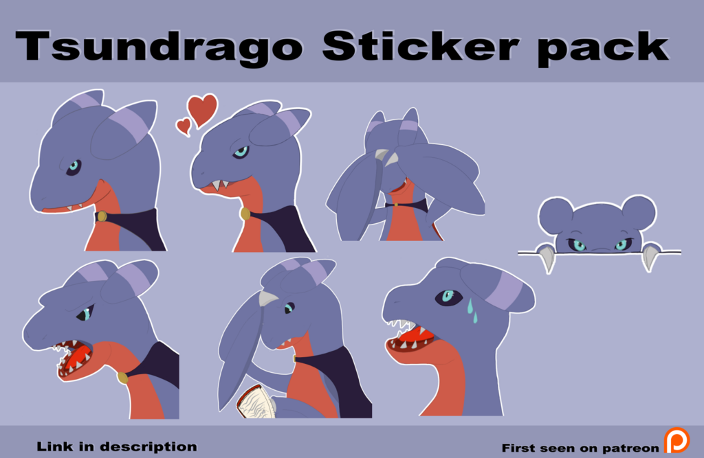 Tsundrago telegram sticker pack