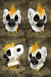 Fog the Ring Tailed Lemur Head