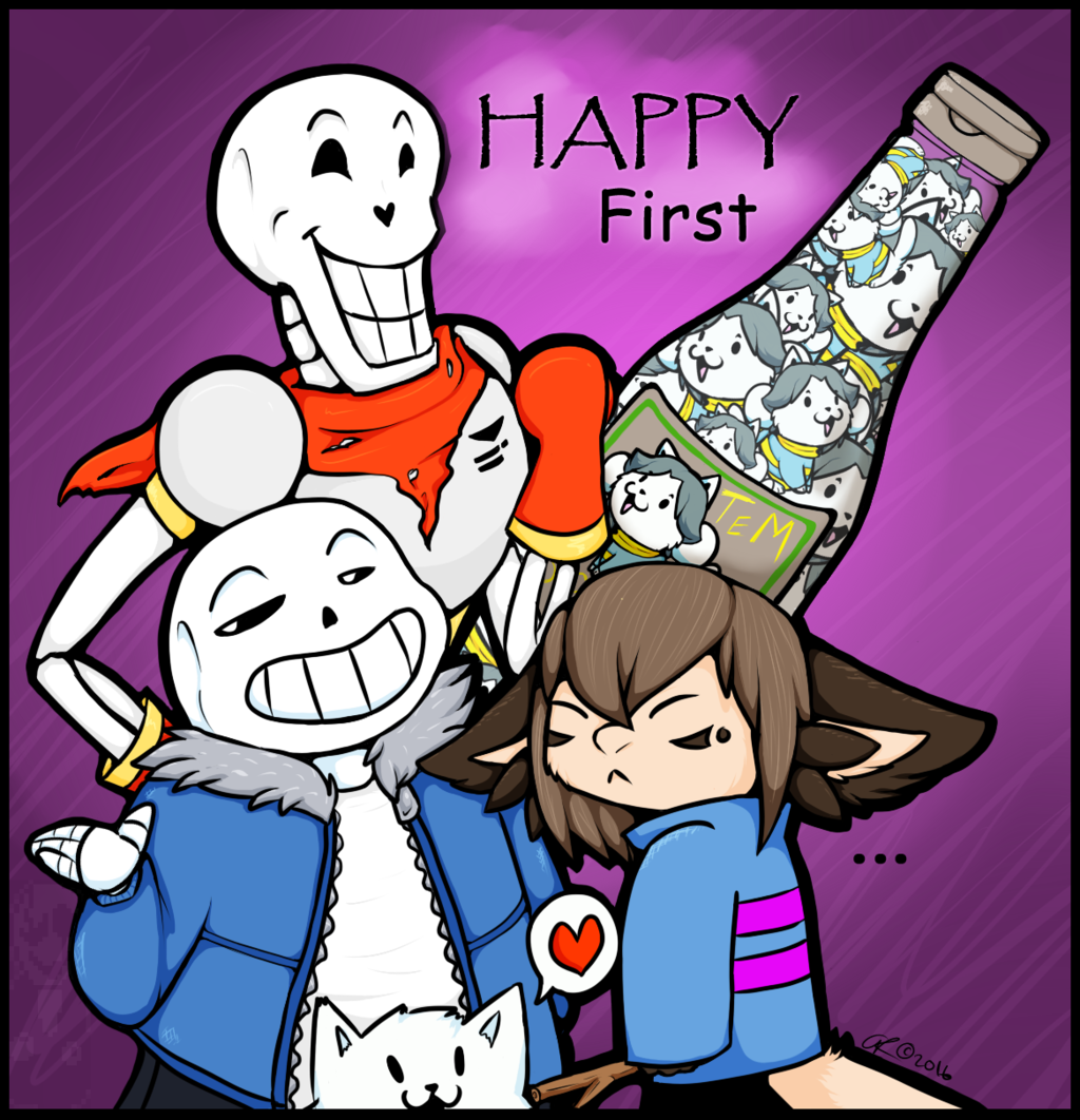Happy First Undertale