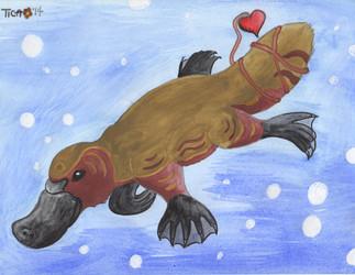 Trade: Platypus watercolor for Abberati