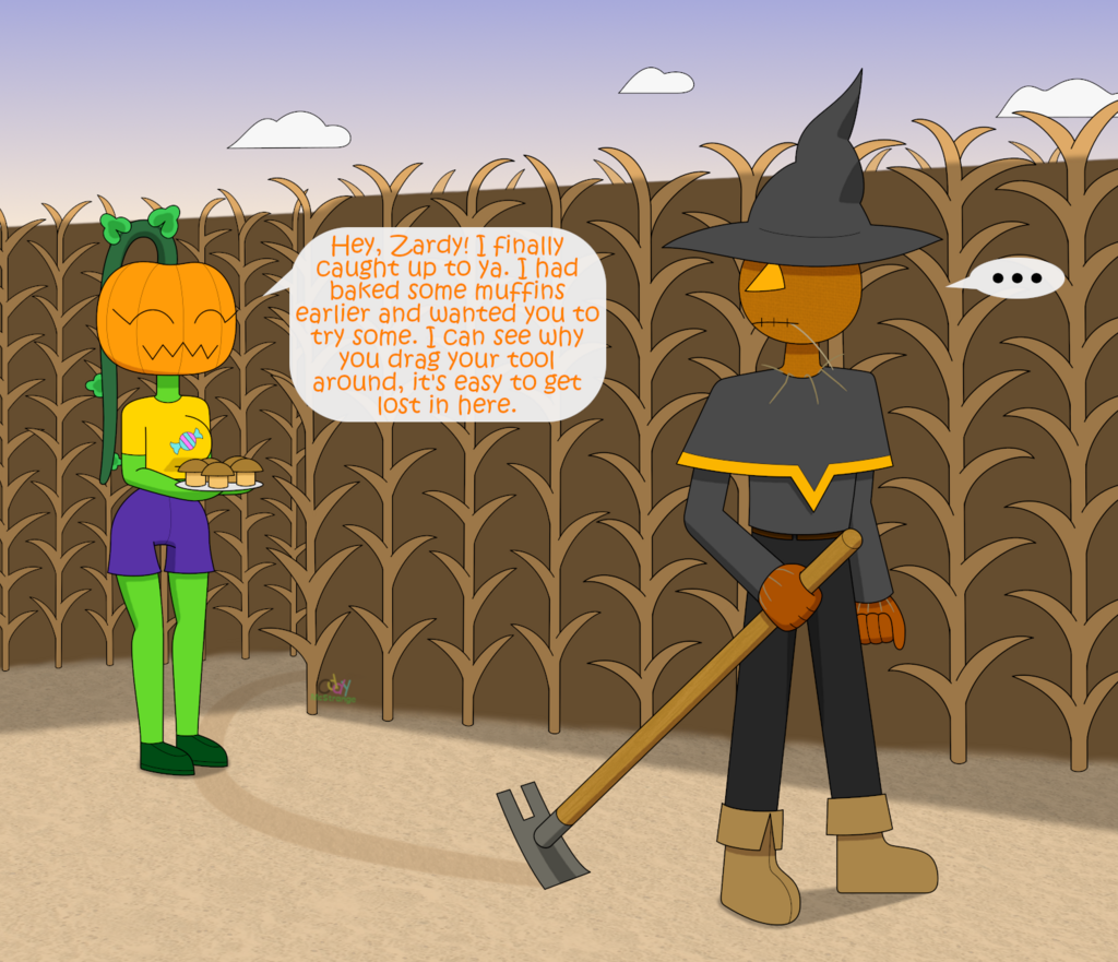 Morning In The Corn Maze