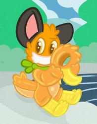 An AuraFox becomes a shiny duck.