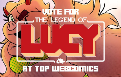 Vote for Legend of Lucy! Get a free wallpaper!