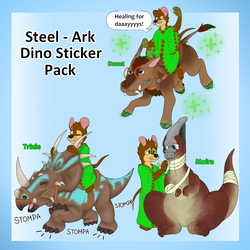 Steel the Warrior Expansion Pack 3 Dino Edition