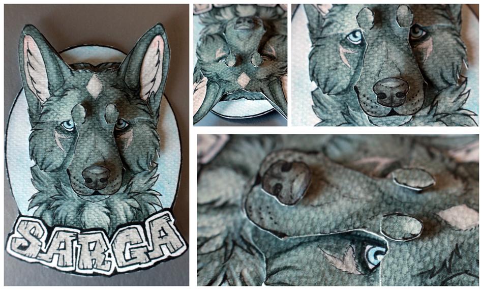 Commissions: 3D - Portrait - Sarga