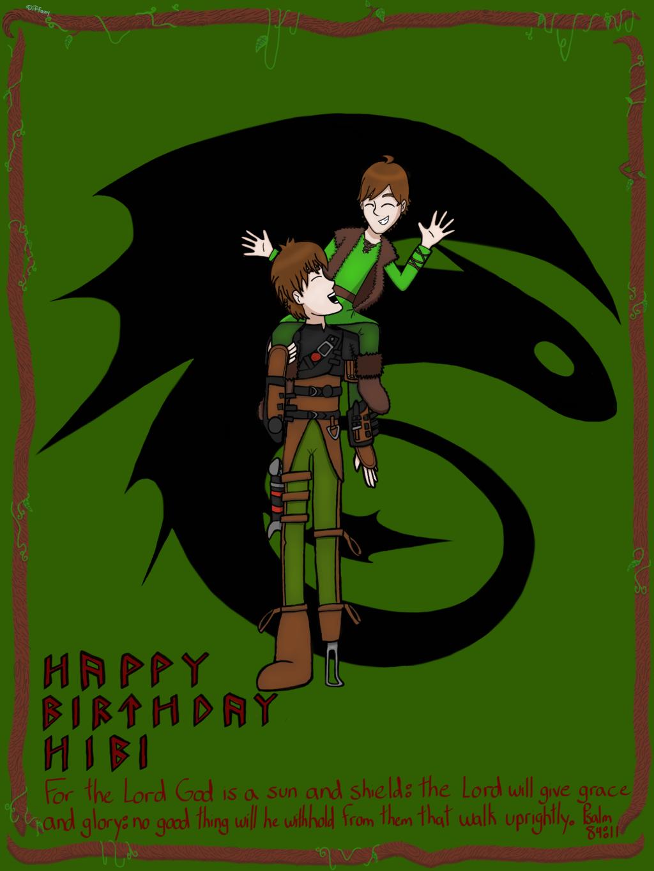 Hibi's Birthday Card