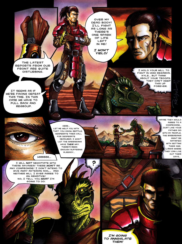 Rising Menace: Comic page 01