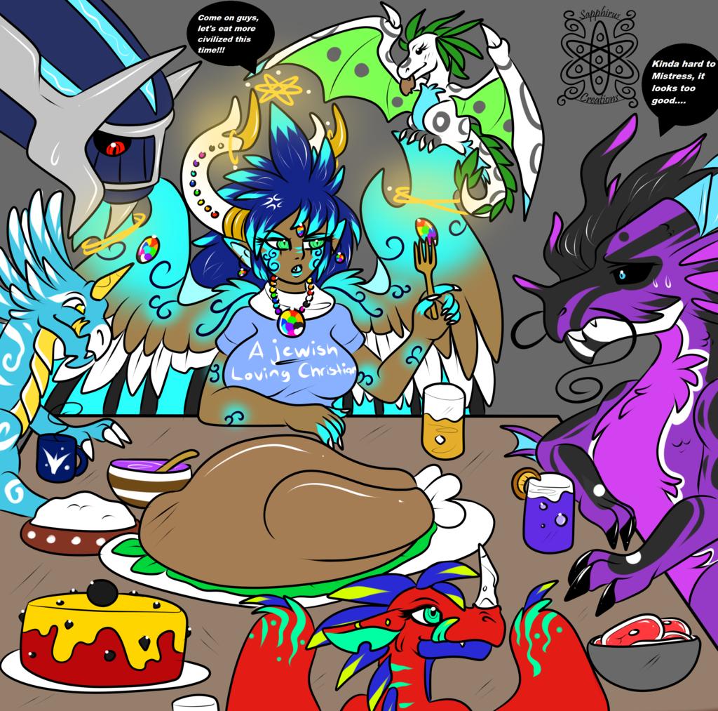 Dragons Thanksgiving +Sapphirus+