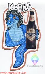 Keera Drink badge commish