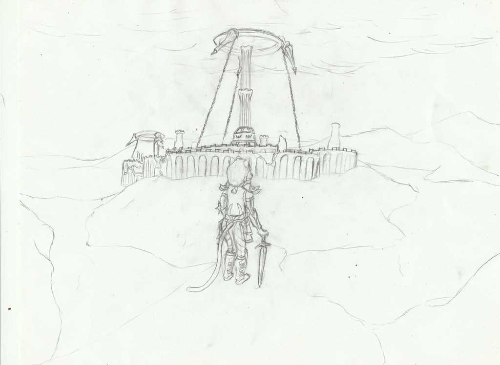 Most recent image: White Gold Tower Sketch