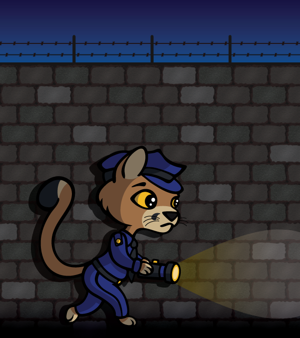Featured image: Pounce the Cop