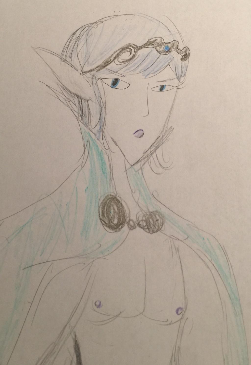 Elf Prince Boy