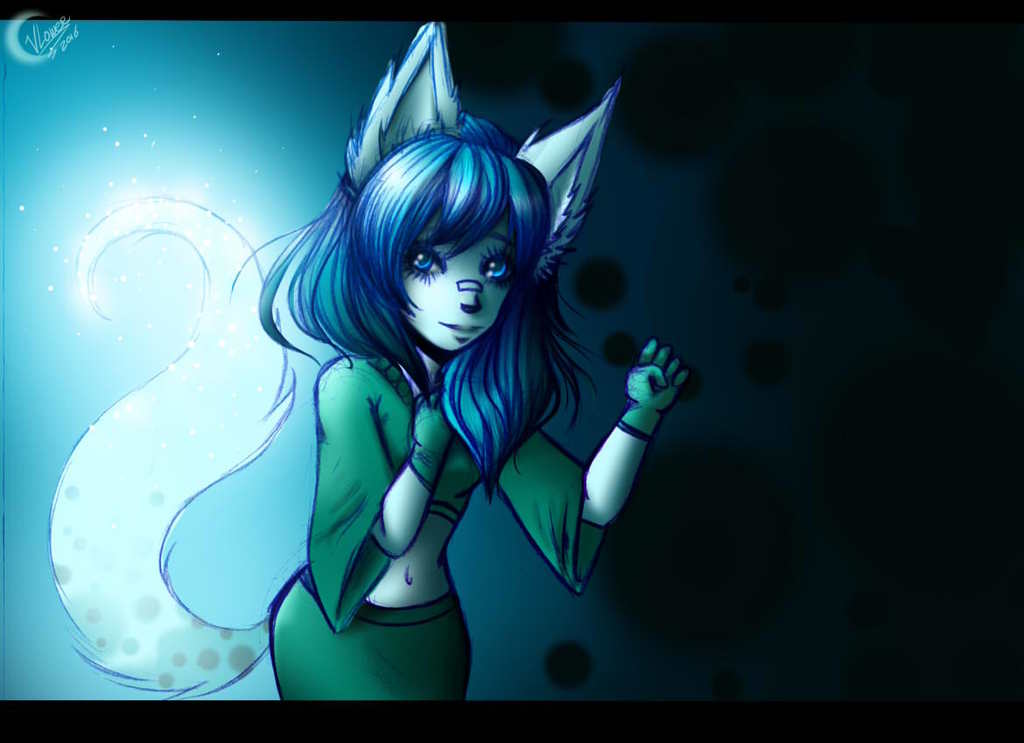Most recent image: Glowy Foxy Tail