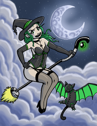 Lingerie Witch