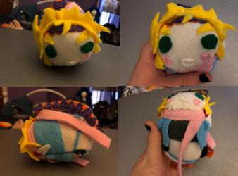 Jojo's Bizarre Adventure Caesa Zeppli Stackable Tsum Plush made for myself