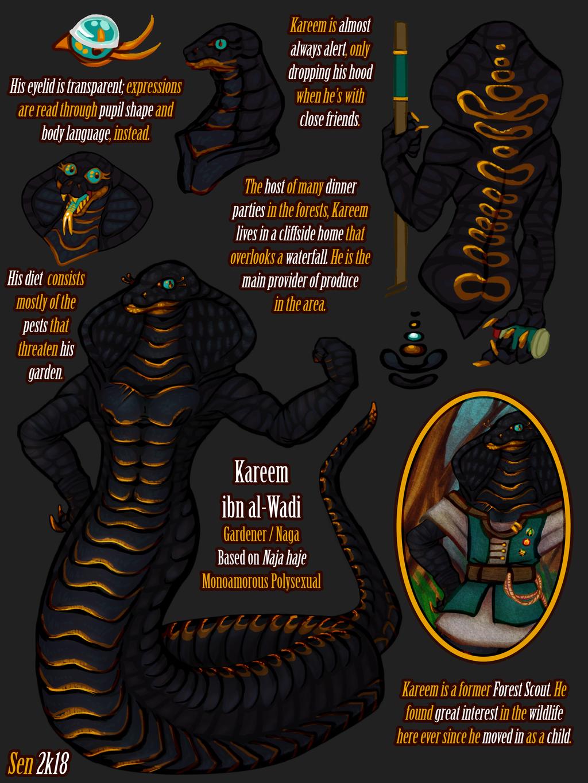 Sept '18: Kareem Character Sheet