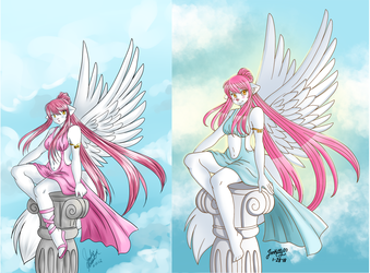 Side by Side Comparison Sahori Re-draw
