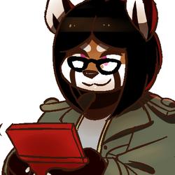 [idoodlez / irootie] April on Her 3DS