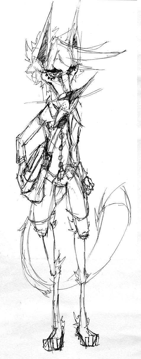 Jaz digitigrade sketch