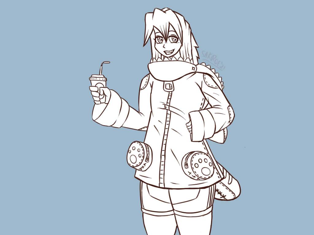 Most recent image: cat hoodie