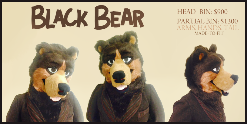 Most recent image: Black Bear- For sale