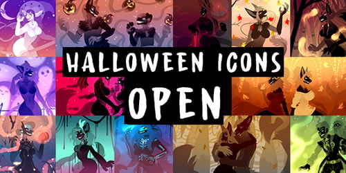 Halloween Icons OPEN