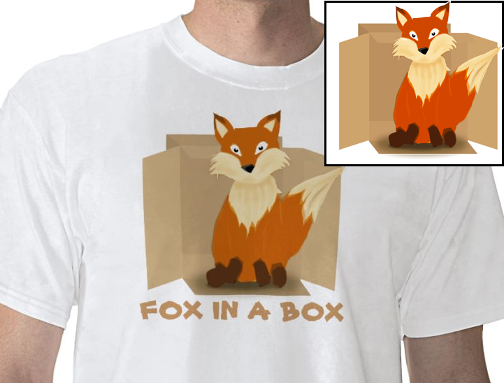 [Tshirt] Fox in a Box