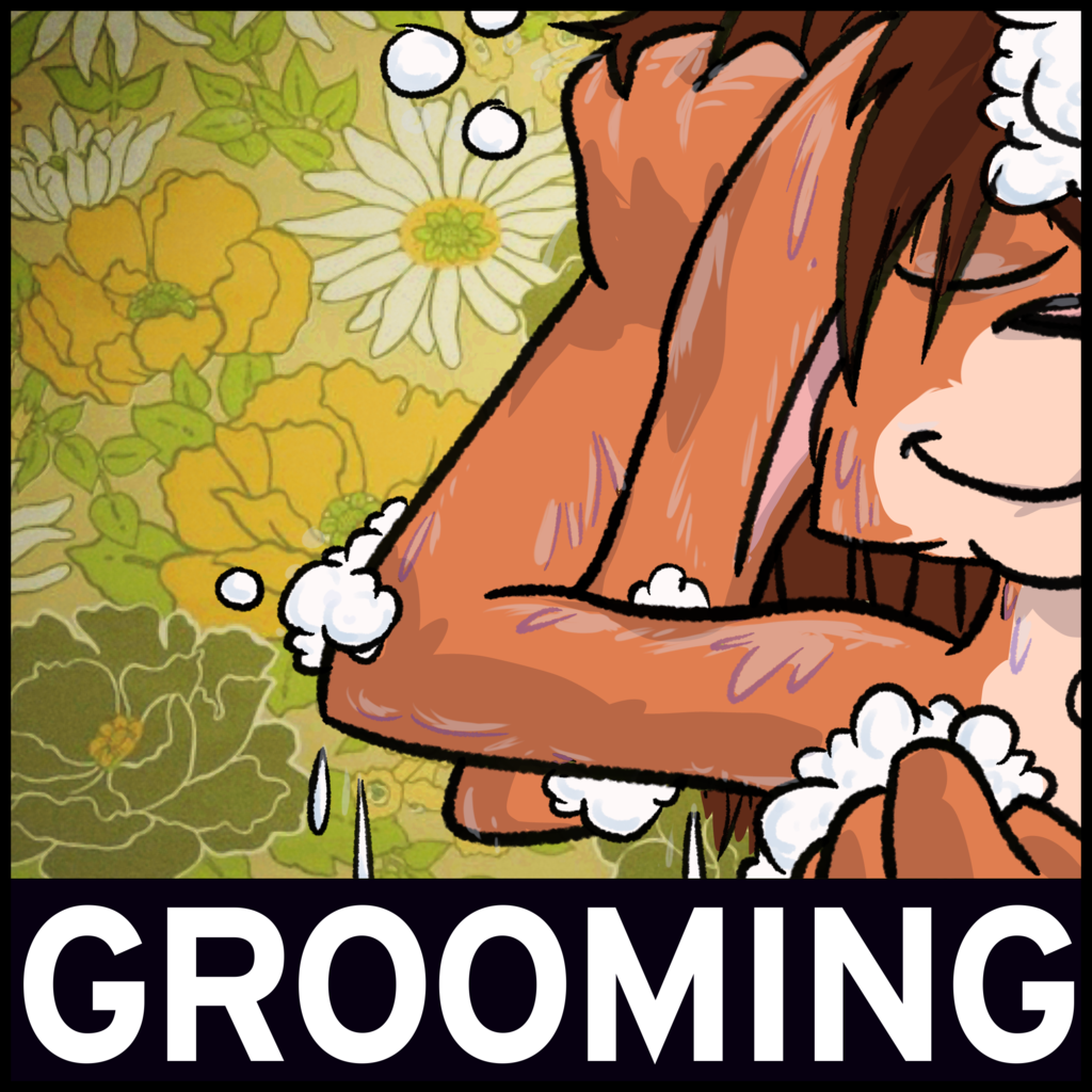 Theme for July 2019 - Grooming