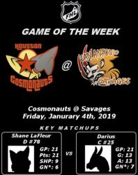 FHL Season 7 GOTW #10: Cosmonauts @ Savages