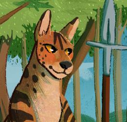 :P: Serval Buddy