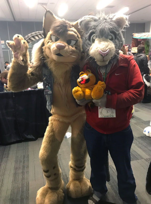 Peter meets Nicole the Lynx (FC'20)