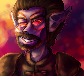 Look at my gross dunmer